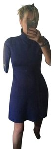 Shoshanna short dress royal blue on Tradesy