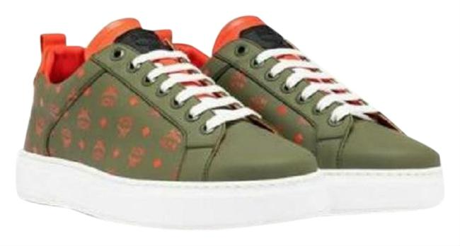Item - Green Monogram Leather Low-top 35/Us Mes9amm60g8 Sneakers Size US 5 Regular (M, B)