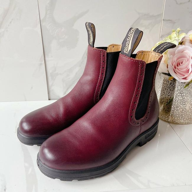 Blundstone Red 1352 High-top Chelsea Boots/Booties Size US 7 Regular (M, B) Blundstone Red 1352 High-top Chelsea Boots/Booties Size US 7 Regular (M, B) Image 3