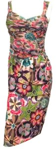 Rene Ruiz short dress Fitted Fitted Silk on Tradesy