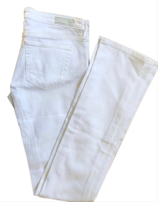 Item - White Light Wash The Olivia Skinny Boot Cut Jeans Size 2 (XS, 26)