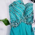 Alyce Paris Electric Green A-line Silky Beaded Long Formal Dress Size 4 (S) Alyce Paris Electric Green A-line Silky Beaded Long Formal Dress Size 4 (S) Image 7