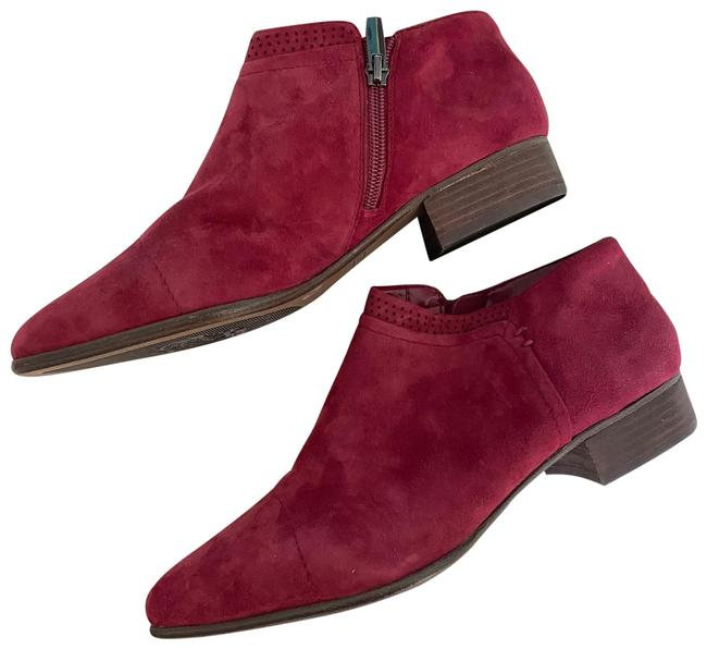 Item - Wine Berry Red Suede Ankle Boots/Booties Size US 10 Regular (M, B)
