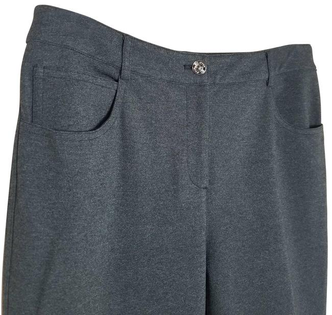 Item - Gray Knit Casual Pants Size 6 (S, 28)