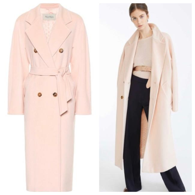 Item - Pink Iconic Madame 101801 Wool Cashmere Coat Size 2 (XS)