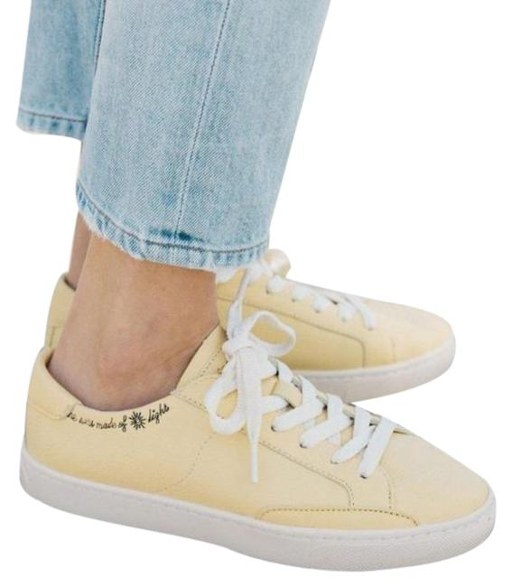 Item - Yellow Soludos Ibiza Classic Sunlight Embroidered Sneakers Size US 5.5 Regular (M, B)