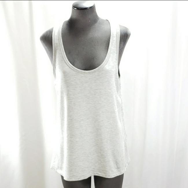 Item - Gray Split Back Tank Blouse Size 12 (L)