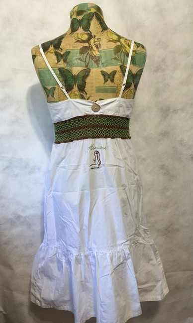 Hinano short dress White on Tradesy