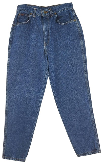 Item - Blue Vintage In The Usa High Rise Relaxed Fit Jeans Size 36 (14, L)