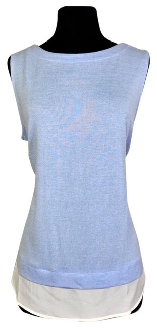 Item - Periwinkle Blue Boat Neck Tank Top/Cami Size 12 (L)