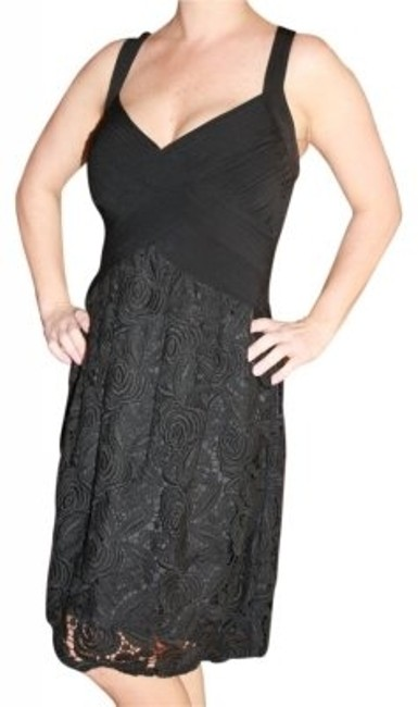 Preload https://item5.tradesy.com/images/bcbgmaxazria-black-above-knee-cocktail-dress-size-12-l-28419-0-0.jpg?width=400&height=650