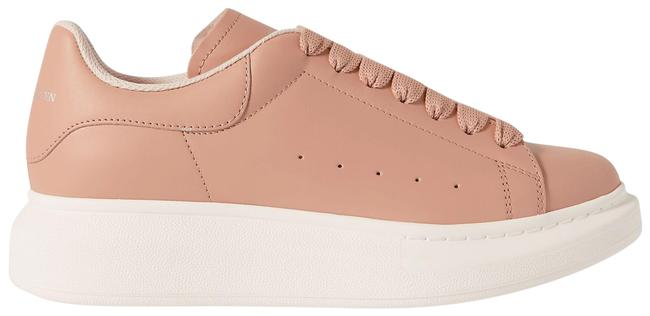Item - Pink Leather Exaggerated-sole Sneakers Size EU 38.5 (Approx. US 8.5) Regular (M, B)