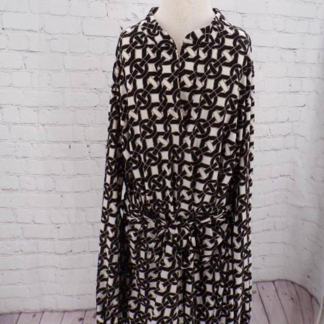 Laundry by Shelli Segal Jersey Large Short Casual Dress Size 12 (L) Laundry by Shelli Segal Jersey Large Short Casual Dress Size 12 (L) Image 5