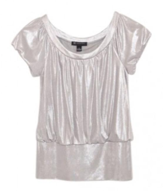 Preload https://img-static.tradesy.com/item/28420/inc-international-concepts-silver-shiny-blouse-night-out-top-size-8-m-0-0-650-650.jpg