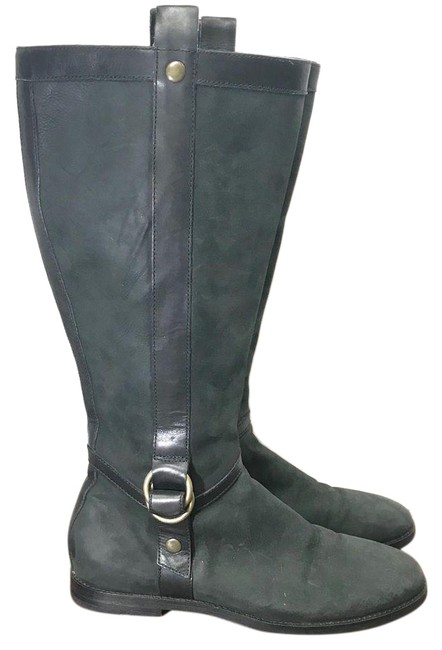 Cole Haan Green Nike Black Riding 9aa Boots/Booties Size US 9 Narrow (Aa, N) Cole Haan Green Nike Black Riding 9aa Boots/Booties Size US 9 Narrow (Aa, N) Image 1
