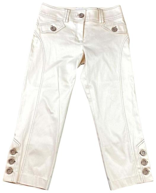 Item - Tan Casual Basic Ankle Pants Size 6 (S, 28)