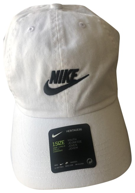 Item - White 1 Size Youth Hat