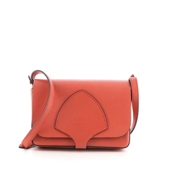 Item - Hampshire Small Red Leather Shoulder Bag
