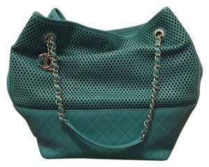 Chanel Tote in Teal