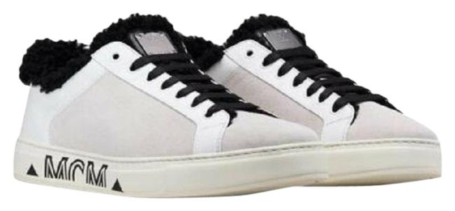 Item - White Suede Black Shearling Low-top 40/Us Mes9ada02wt Sneakers Size US 10 Regular (M, B)