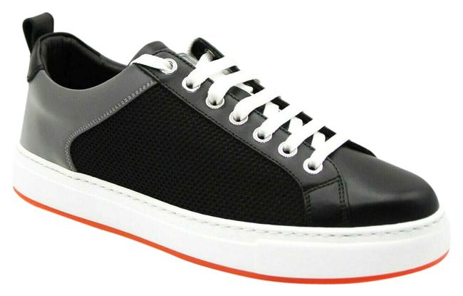 Item - Black Leather Silver Reflective Canvas 36/Us Mes9ara71bk Sneakers Size US 6 Regular (M, B)