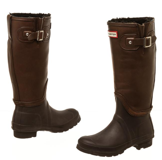 Item - Brown Leather Buckle 502682 Boots/Booties Size EU 37 (Approx. US 7) Regular (M, B)