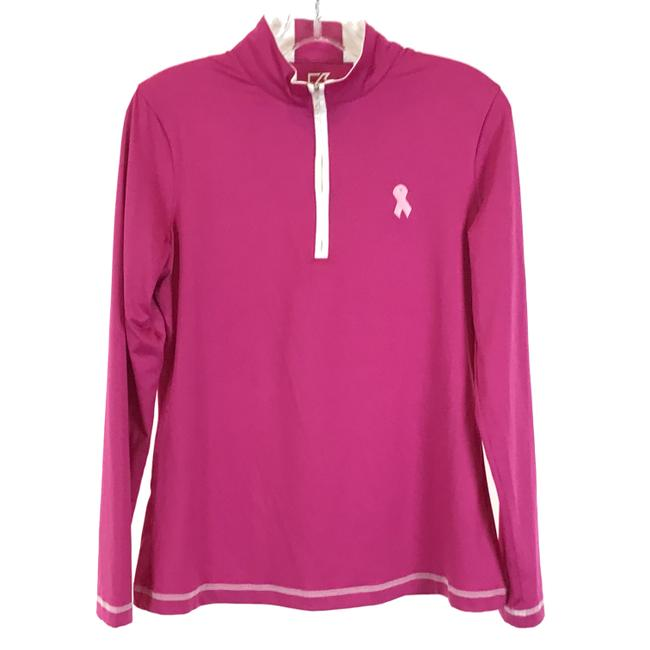 Item - Pink Breast Cancer Awareness Cb Drytec Activewear Outerwear Size 6 (S)