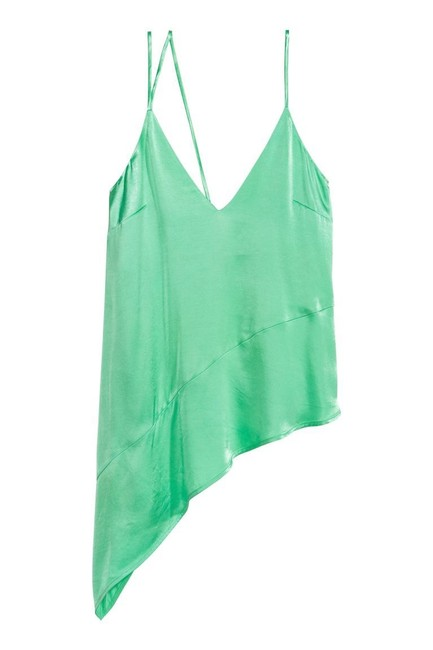 H&M Green 0589380004 Tank Top/Cami Size 6 (S) H&M Green 0589380004 Tank Top/Cami Size 6 (S) Image 1