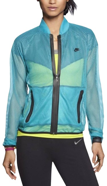 Item - Blue Sunset Mesh Training Running In Teal. Activewear Outerwear Size 6 (S)