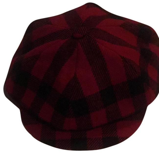 Item - Red and Black Check Hat