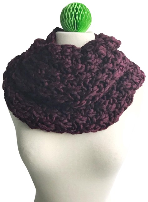 Item - Purple New with Tags Knit Infinity Scarf/Wrap