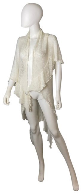 Item - White Sheer Cover-up/Sarong Size OS (one size)