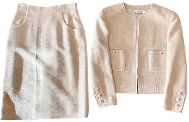 Item - Ivory Two Piece Skirt Suit Size 12 (L)