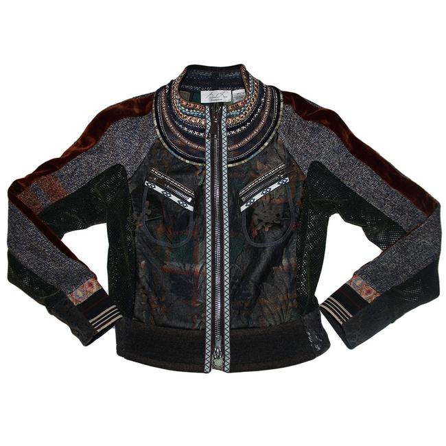 Item - Multicolor Knights Armor Jacket Size 4 (S)