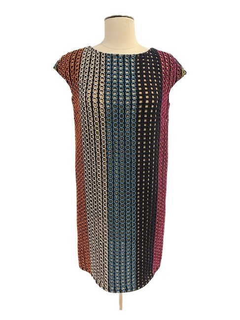 Item - Multi Colored Any Season Mid-length Cocktail Dress Size 2 (XS)