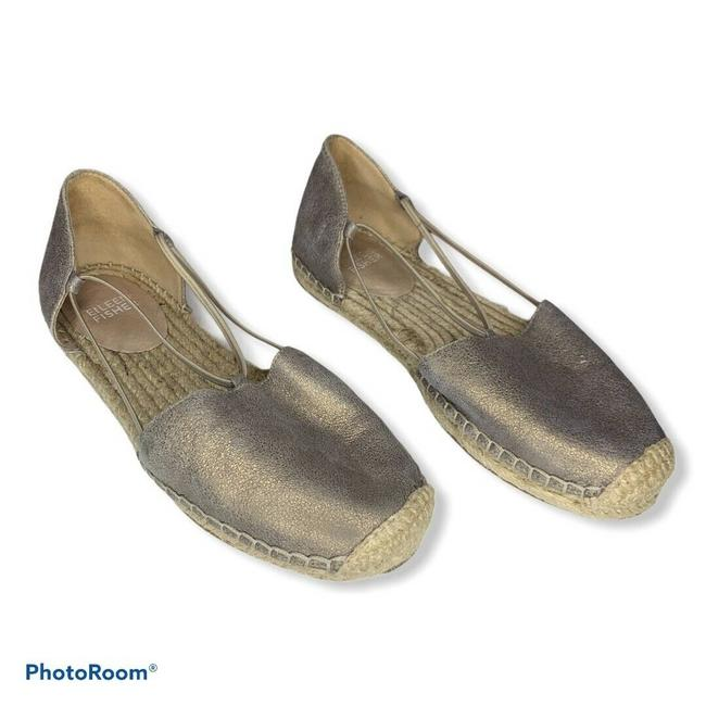 Item - Gold Lee Metallic Espadrille Flats Size US 6 Regular (M, B)