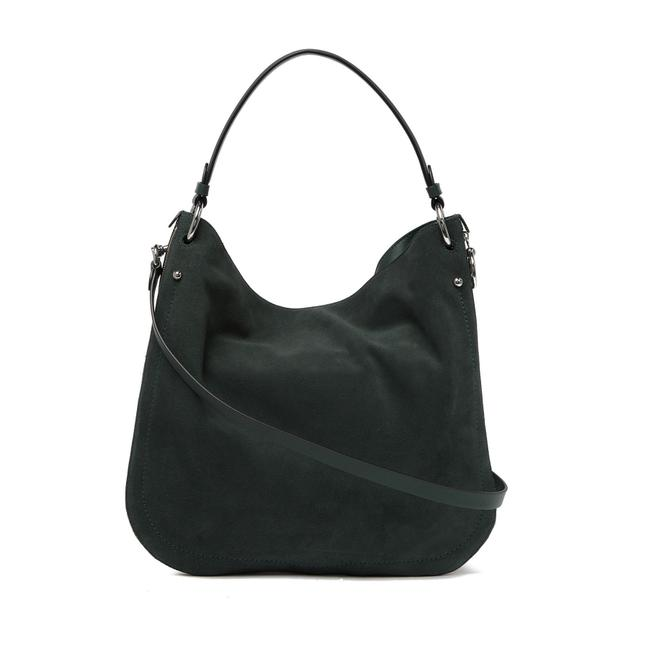 Item - Jody Convertible Green Suede Leather Hobo Bag