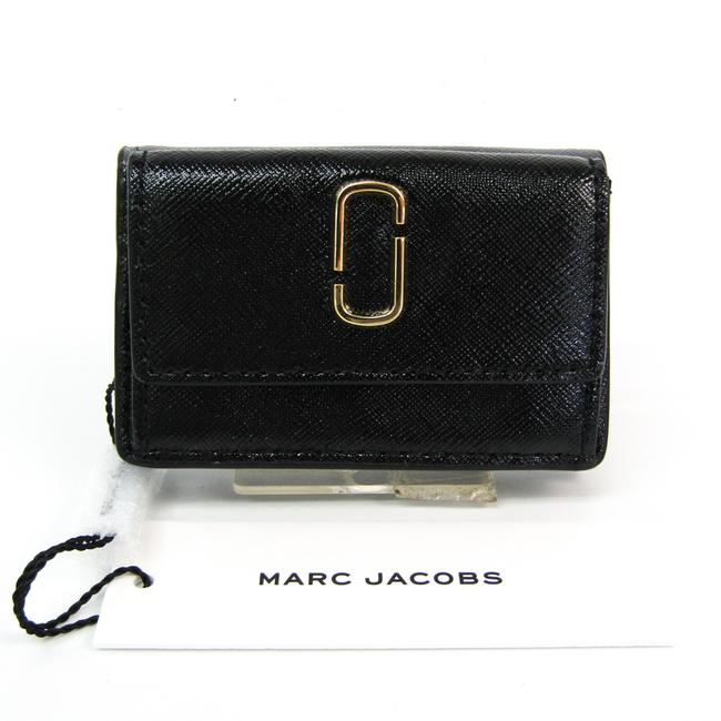 Item - Black / Gray The Snapshot Mini Trifold M0014492 Women's Coated Leather (Tri-fold) Wallet