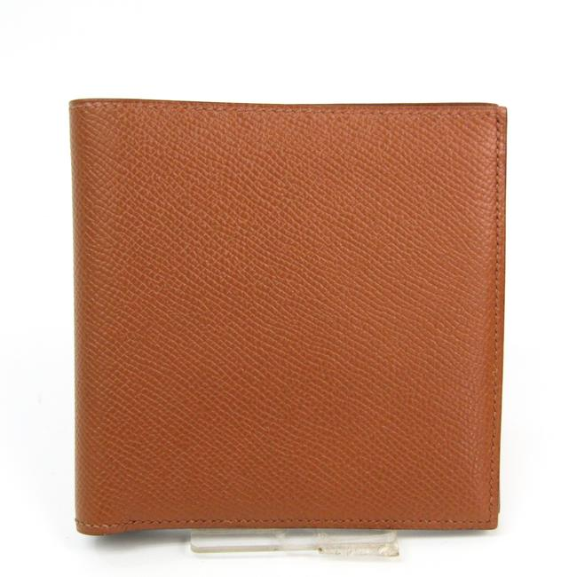 Item - Brown Top 24 Unisex Graine Couchevel Leather (Bi-fold) Wallet