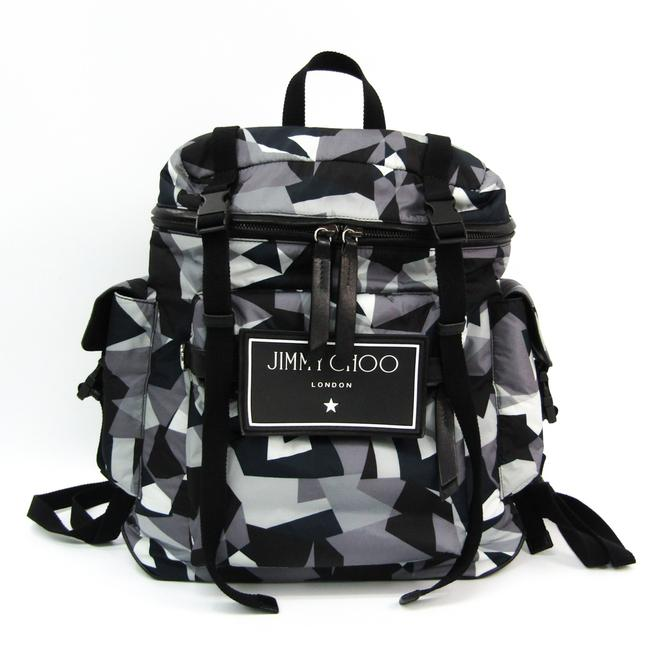 Item - Wixon Cin Atm Wixon Unisex Black / Gray / Multi-color Leather / Nylon Backpack