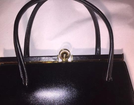 Crouch & Fitzgerald Wristlet in black