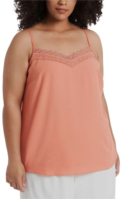 Item - Apricot Lace Trim Camisole Tank Top/Cami Size 24 (Plus 2x)