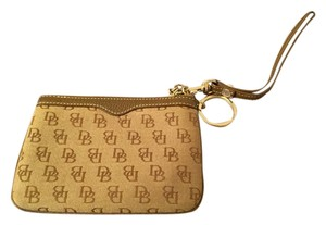 Dooney & Bourke Wristlet in Brown