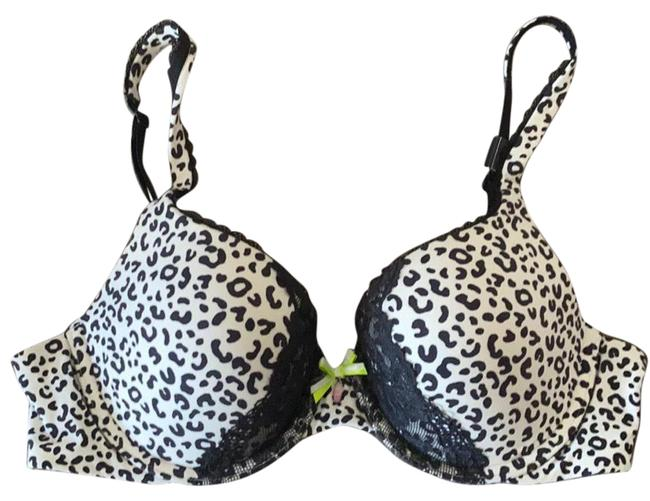 Item - Black and White Body By Padded Perfect Coverage 34c Activewear Sports Bra Size 8 (M, 29, 30)
