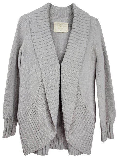 Item - Lounge Chunky Cardigan Gray Sweater