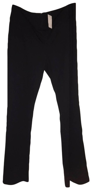 Item - Black Zip Pointe Long Licorice Pants Size 16 (XL, Plus 0x)