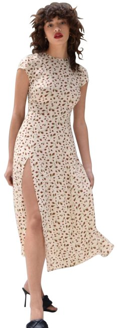 Item - White Gavin In Marion Print Mid-length Night Out Dress Size 10 (M)