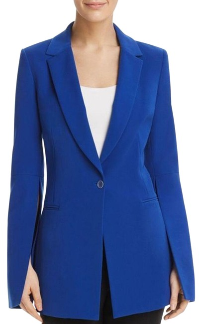Item - Blue Gia Slit-sleeve Royal New Blazer Size 6 (S)
