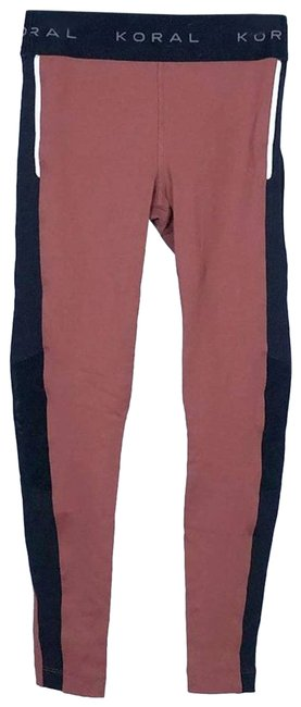 Item - Pink Rise Mauve Black Small Activewear Bottoms Size 4 (S, 27)