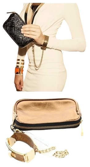 Preload https://item5.tradesy.com/images/cc-skye-victoria-bracelet-chain-clutch-liquid-bronze-leather-wristlet-2842894-0-3.jpg?width=440&height=440